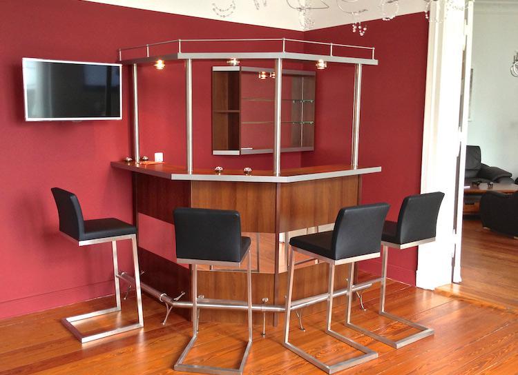wohnzimmerbars ullmann hausbars. Black Bedroom Furniture Sets. Home Design Ideas
